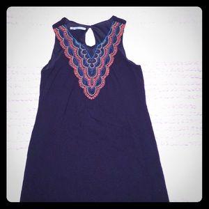 Maurice's Navy Mid-length Sleeveless Dress
